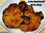 Asian Marinated Pork Chops – Recipe