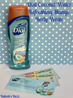 Dial Coconut Water Refreshing Mango Body Wash Review + Giveaway #GetNoticed