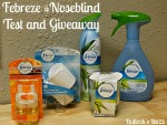 Febreze #Noseblind Test and $60 AMEX Giveaway