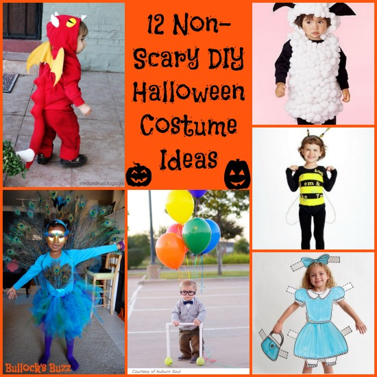 Scary Halloween Costume Ideas For Kids.12 Non Scary Diy Halloween Costumes For Kids Bullock S Buzz