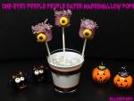 One-Eyed Purple People Eater Marshmallow Pops – Halloween Recipe