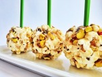 Pistachio Chewy Bite Popcorn Balls – Fall Recipes