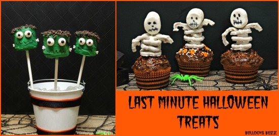 Last Minute Halloween Party Treats two tasty treats that are easy to make