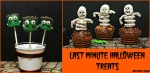 Last Minute Halloween Treats