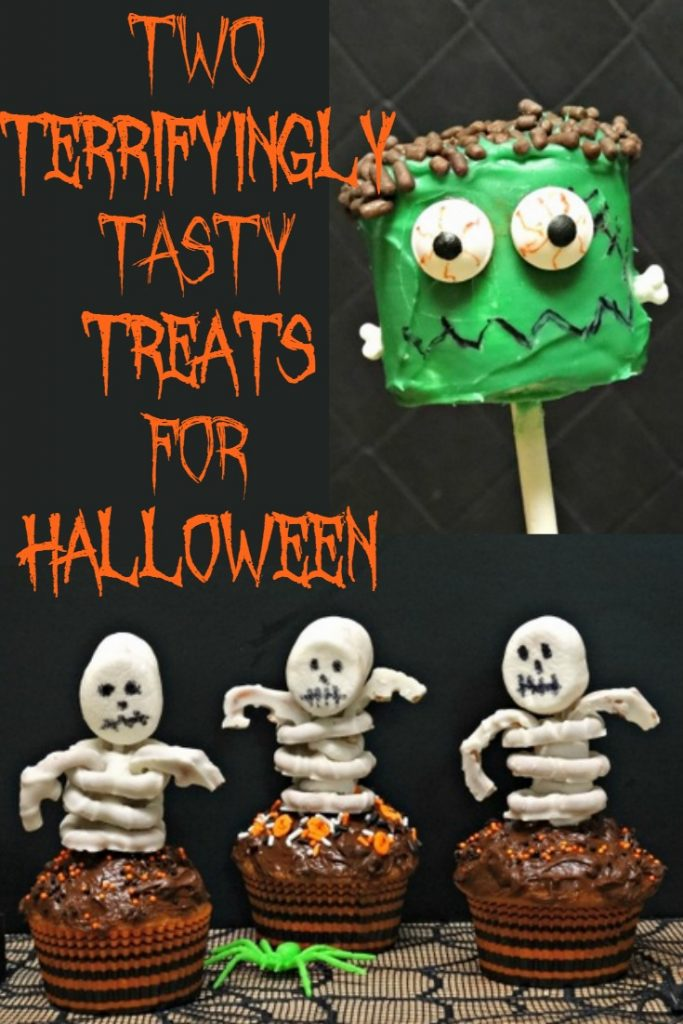 Two terrifyingly tasty last minute Halloween party treats are so simple to make, it's scary!