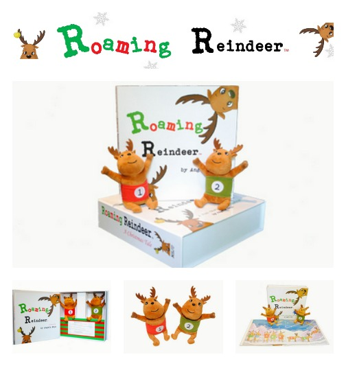 roaming reindeer Christmas activity kit pictures