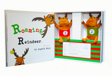 roaming reindeer Christmas activity kit whole kit