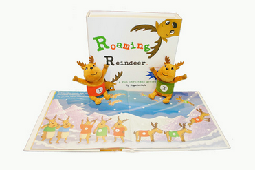 roaming reindeer Christmas activity kit