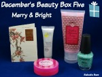 December's Beauty Box Five – Merry and Bright