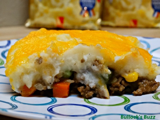 Shepherd's Pie with Beef Made With Idahoan Mashed Potatoes1