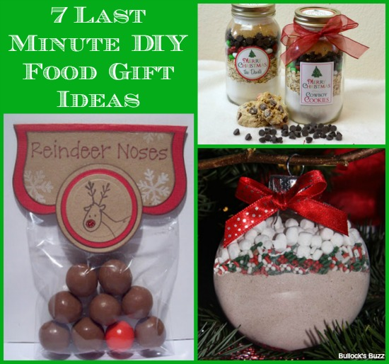 7 Last Minute Diy Food Gift Ideas Gifts From The Heart And The Hands Bullock S Buzz