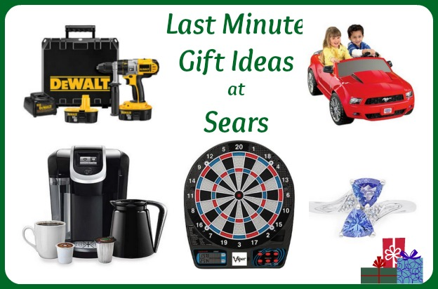 last minute gifts at sears