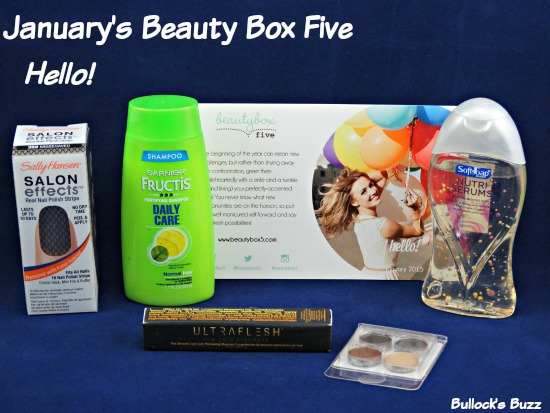 January's Beauty Box Five – Hello New Year!