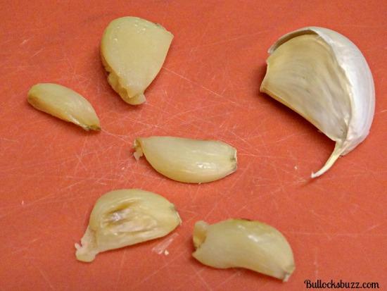 spinach and artichoke dip garlic cloves