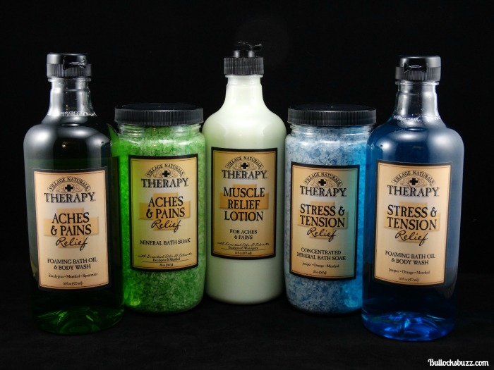 Village Naturals Therapy: Wash Away Everyday Ailments