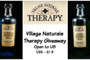 village naturals therapy giveaway 2a