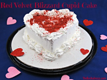 Dairy Queen Red Velvet Blizzard Cupid Cake – It's Love at First Bite