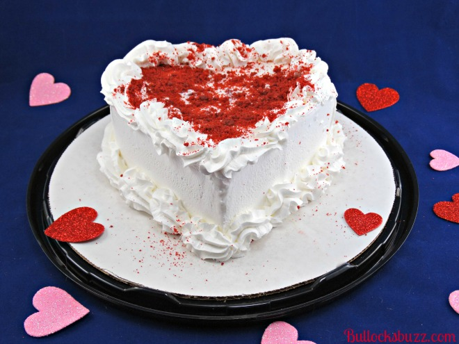 Dairy Queen Red Velvet Blizzard Cupid Cake 3
