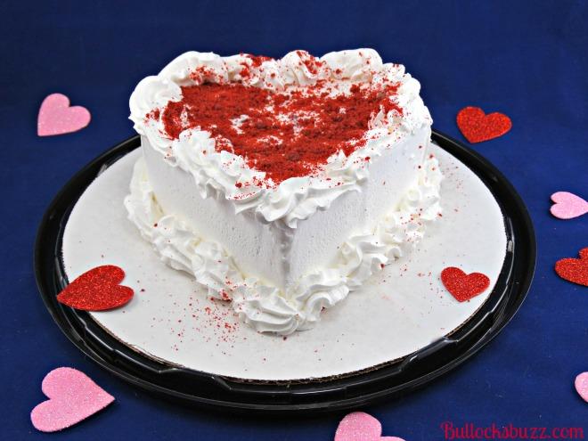 Dairy Queen Red Velvet Cupid Cake Review