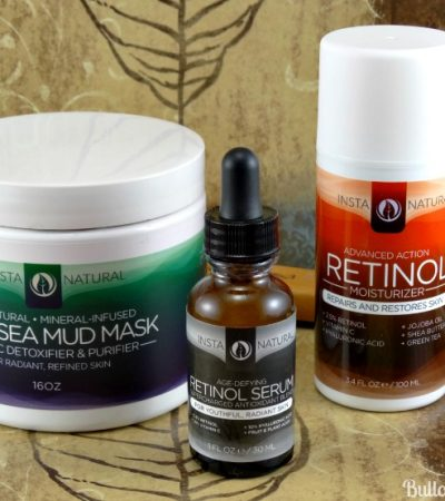 InstaNatural Skin Care: Dead Sea Mud Mask, Retinol Moisturizer and Age-Defying Retinol Serum