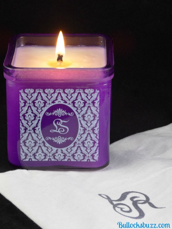 LoveSpoon Candles Monogram Collection Lavender Candle