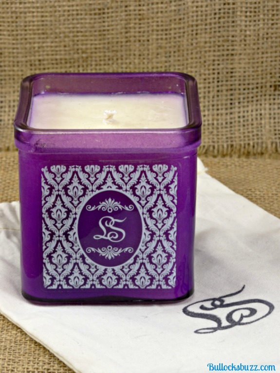 LoveSpoon Candles Monogram Collection Lavender