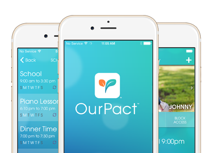 managing your child's screen time with OurPact-app