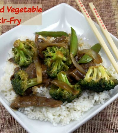 Beef and Vegetable Stir-Fry Recipe