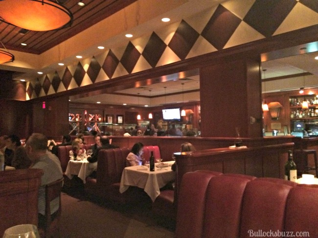 fleming's steakhouse inside view