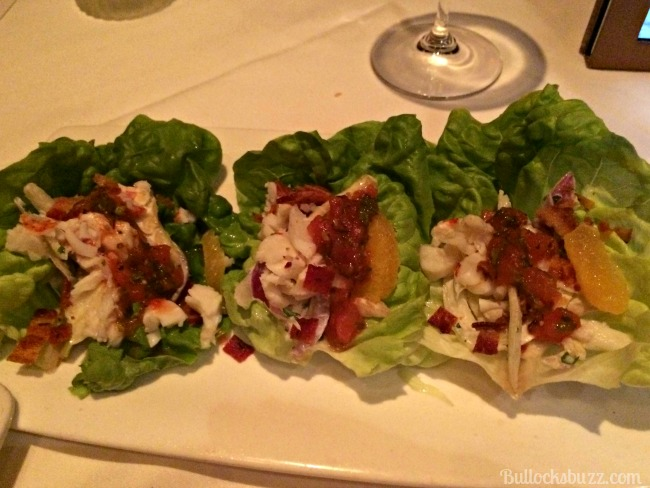 fleming's steakhouse lettuce wraps
