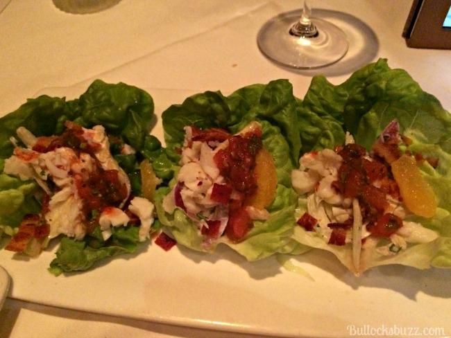 fleming's steakhouse lettuce wraps