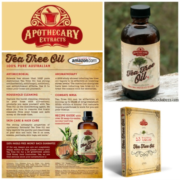 tea tree oil uses Apothecary Extracts 1