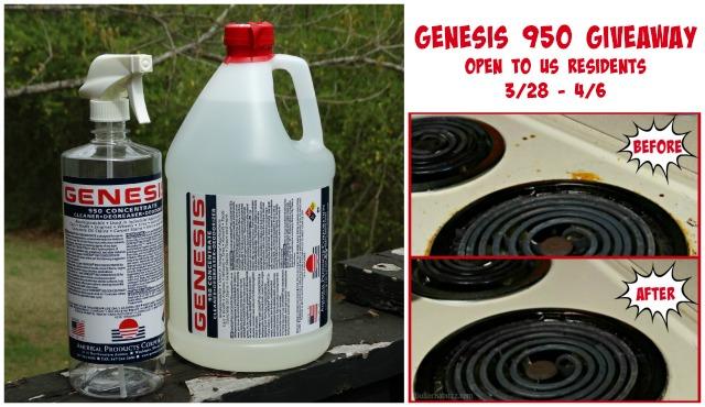 Genesis 950 Cleaner Giveaway