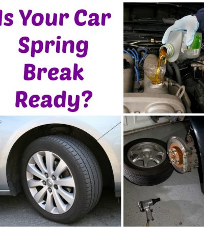 Is Your Car Spring Break Ready?