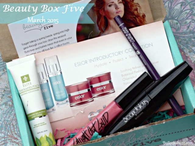 Beauty Box Five March 2015 – Hustle