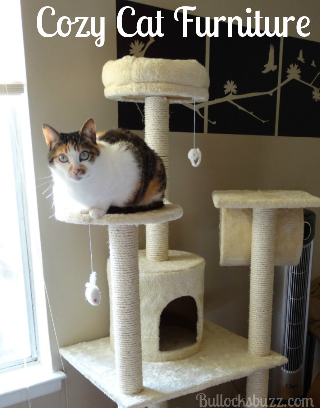 Cozy Cat Furniture: Kitty Cat Condo Tree with Round Beds