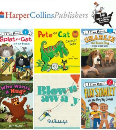 Children's Books from Harper Collins Publishers + Read Across America Day