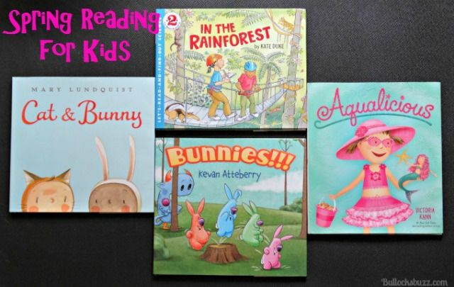 Spring Reading: Children's Books from HarperCollins Publishers!