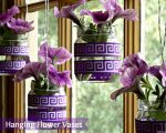 Hanging Flower Vases: Bring a Bit of Spring Indoors