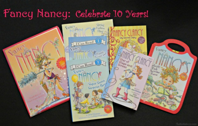 Fancy Nancy: Come Celebrate 10 Years with New Books + More!