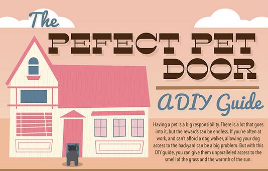 The Perfect Pet Door: A DIY Guide
