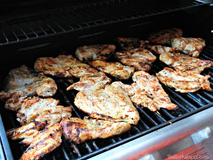 zaycon chicken on grill