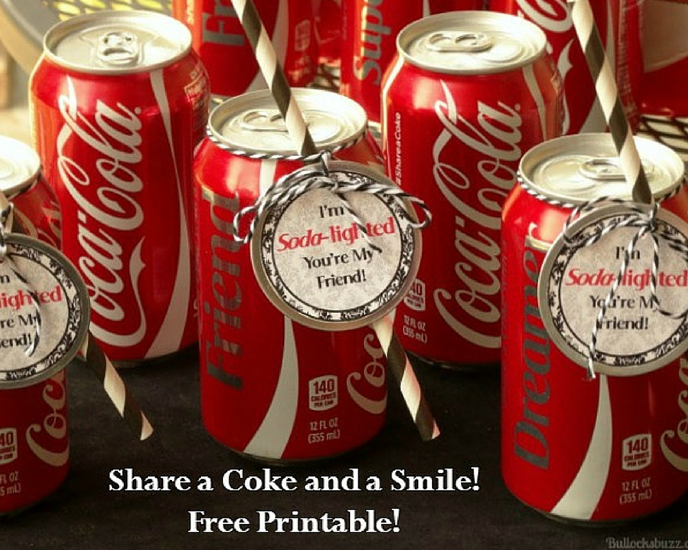 Share a Coke Free Printable Tag