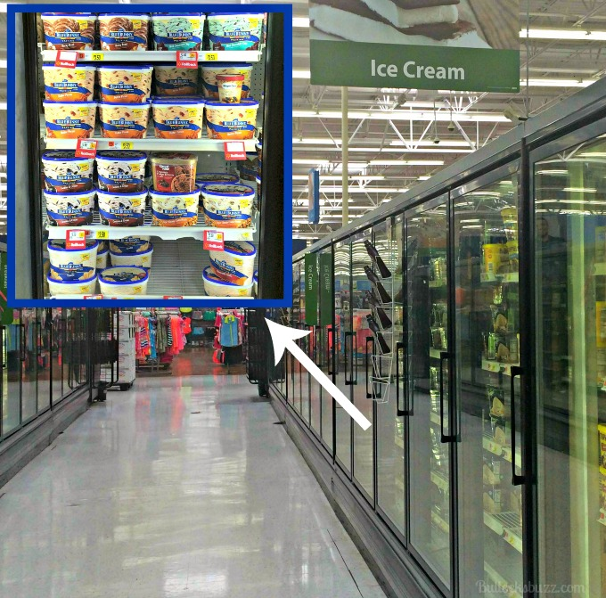 blue bunny ice cream walmart
