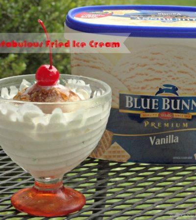 Fantabulous Fried Ice Cream
