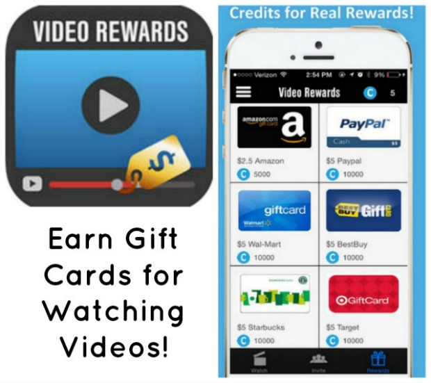Taking online surveys for money, earn gift cards for watching videos