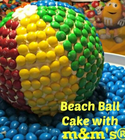 M&M's® Beach Ball Cake