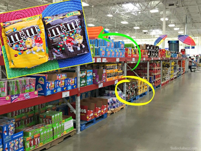 M&M Beach Ball Cake bags at Sams Club