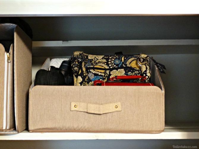Six Tips for Organizing Closets SOFI Brix Bin