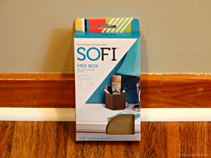 Six Tips for Organizing Closets SOFI Hex Boxes